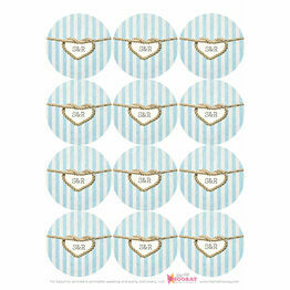 Nautical Knot Stickers - Sheet of 12