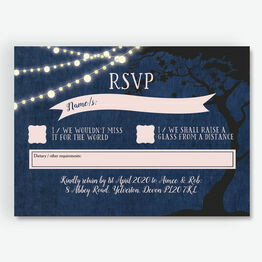 Enchanted Fairy Lights RSVP