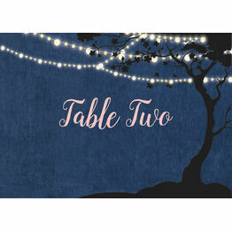 Enchanted Fairy Lights Table Name