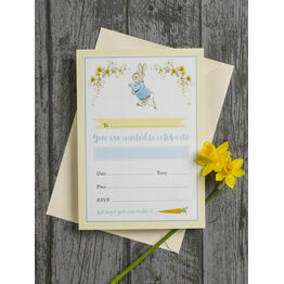 Pack of 10 Beatrix Potter Peter Rabbit Invitations