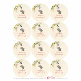 Jemima Puddle Duck Stickers - Sheet of 12
