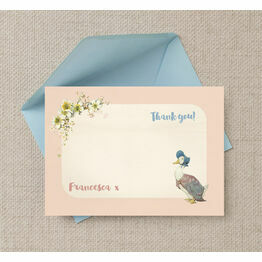 Jemima Puddle-Duck Thank You Card