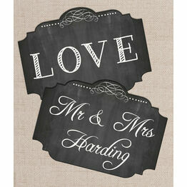 Printable Chalkboard Photo Booth Signs