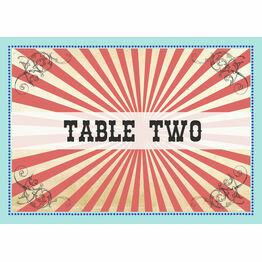 Circus Extravaganza Table Name
