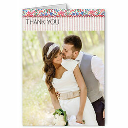 Country Textiles Thank You Card