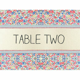 Country Textiles Table Name