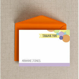 Dotty Delight Thank You Cards