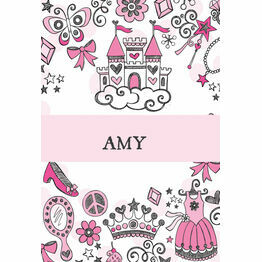 Fairy Princess Name Cards - Set of 9