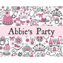 Fairy Princess Party Sign/Poster