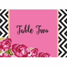 Monochrome Pop Table Name