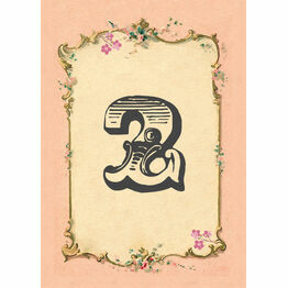 Pastel Pretty Table Number