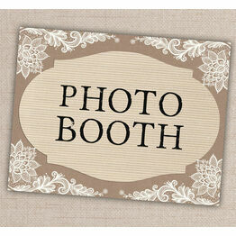 Printable Photo Booth Sign