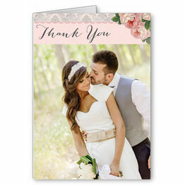 Sweet Vintage Thank You Card