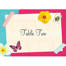 Tropical Breeze Table Name