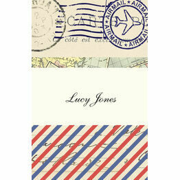 Vintage Airmail Place Cards - Set of 9