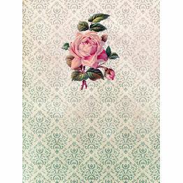 Vintage Scrapbook Pattern Sheet/Envelope Liner