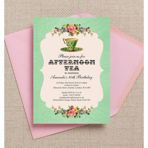 themed birthday invitations