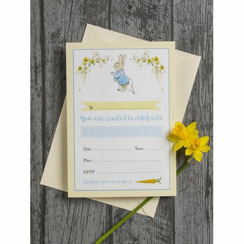 Peter Rabbit Kids Invites Stationery
