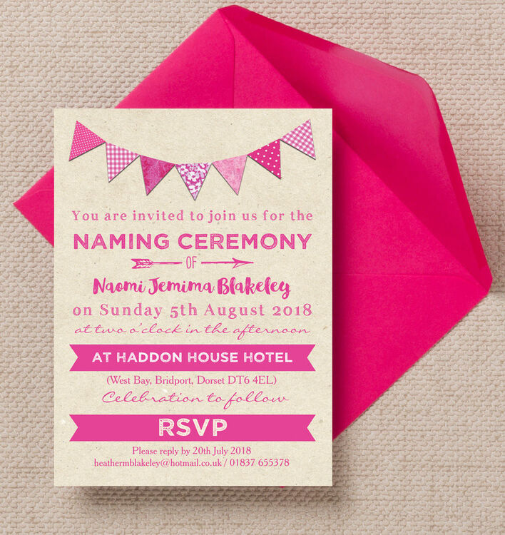 naming day invitation Josemulinohouseco