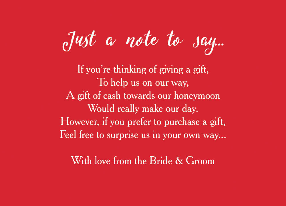 Wedding Gift Money Poem Images Wedding Decoration Ideas