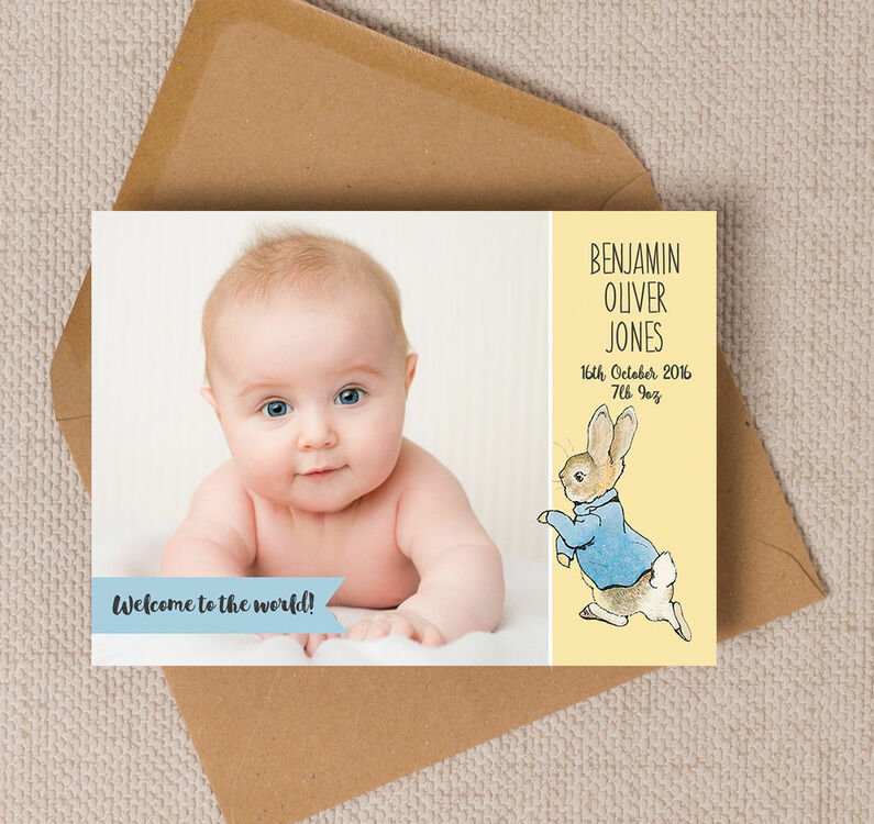 birth announcement pictures