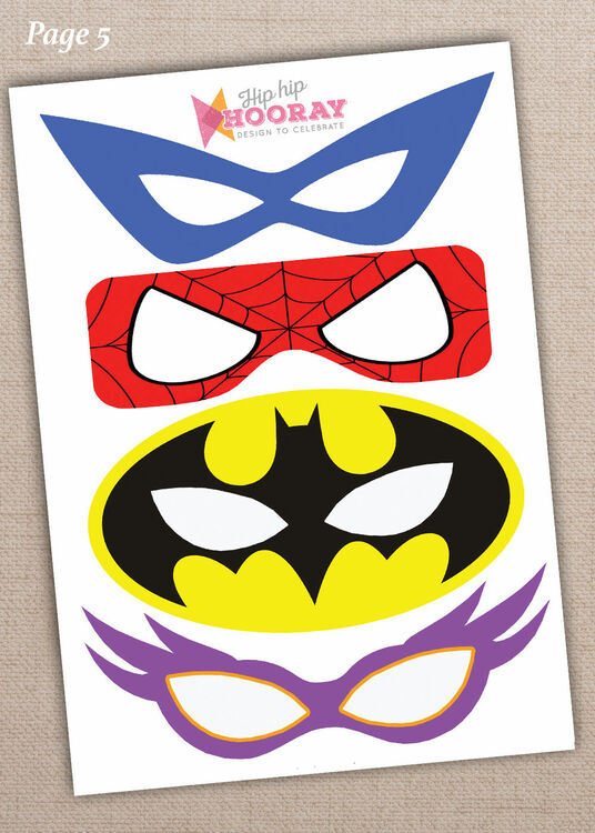 photograph relating to Free Printable Superhero Photo Booth Props named Printable Superhero Picture Booth Props simply £3.00
