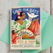 Vintage Spain Wedding Save the Date Card additional 4