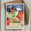 Vintage Spain Wedding Save the Date Card additional 1