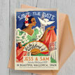 Vintage Spain Wedding Save the Date Card additional 2
