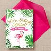 Flamingo Fiesta Tropical Wedding Invitation additional 3