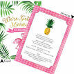 Flamingo Fiesta Tropical Wedding Invitation additional 2