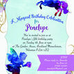 Watercolour Fairies & Unicorns Party Invitation additional 3