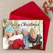 Calligraphy Photo Christmas Card additional 1