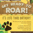 Lion / King of the Jungle Party Invitation additional 2