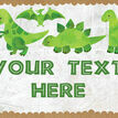 Dinosaur Party Sign / Poster additional 2
