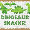 Dinosaur Party Sign / Poster additional 1