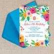 Floral Fiesta Birthday Party Invitation additional 2