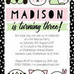 Pet Rescue Birthday Party Invitation - Pink additional 3