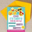Emoji Themed Birthday Party Invitation additional 3