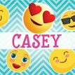 Emoji Themed Personalised Name Cards - Set of 9 additional 1