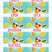 Emoji Themed Personalised Name Cards - Set of 9 additional 2