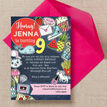 School's Out' Teen / Tween Birthday Party Invitation additional 3