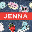 School's Out' Teen / Tween Name Cards - Set of 9 additional 1