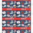 School's Out' Teen / Tween Name Cards - Set of 9 additional 2
