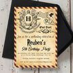 Witches & Wizards Birthday Party Invitation additional 2