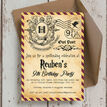 Witches & Wizards Birthday Party Invitation additional 3