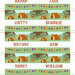 Camping Themed Name Cards - Set of 9 additional 2