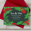 Winter Berries Wedding Save the Date additional 3