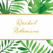 Tropical Leaves Place Cards - Set of 9 additional 1