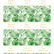 Tropical Leaves Place Cards - Set of 9 additional 2